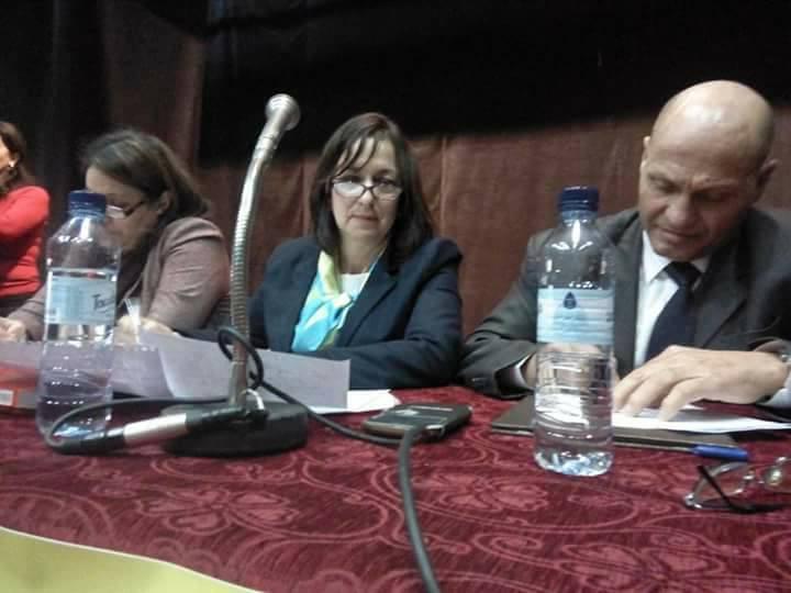 Nora Ouali (au centre), coordinatrice régionale des Femmes démocrates du RCD. D. R.