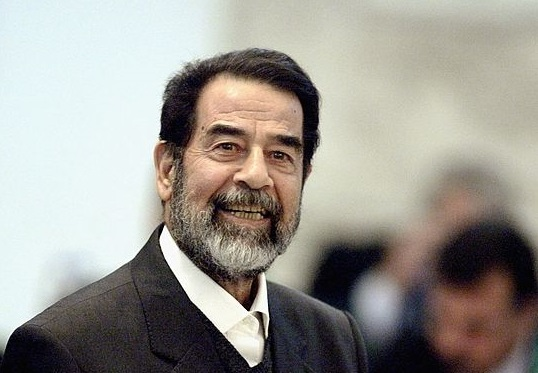 Saddam Hussein : «Nous n'avions pas de relations avec Oussama Ben Laden.» D. R.