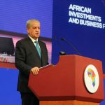 Adelmalek Sellal, lors de son intervention au Forum africain d'investissement et d'affaires. New Press