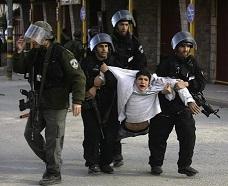 Les forces israéliennes mènent quotidiennement des arrestations arbitraires. D. R.