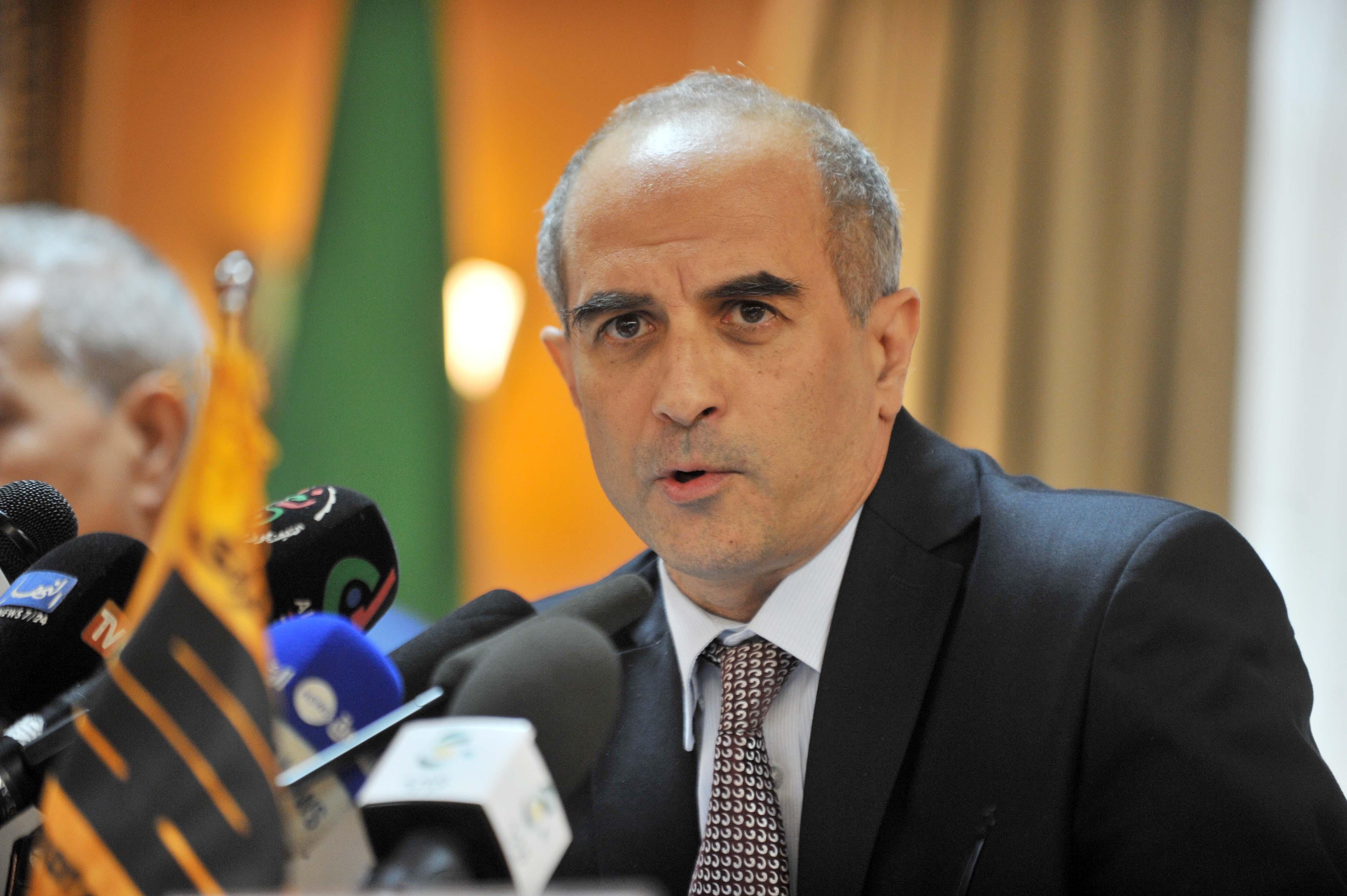 Amine Mazouzi , PDG du groupe Sonatrach. New Press