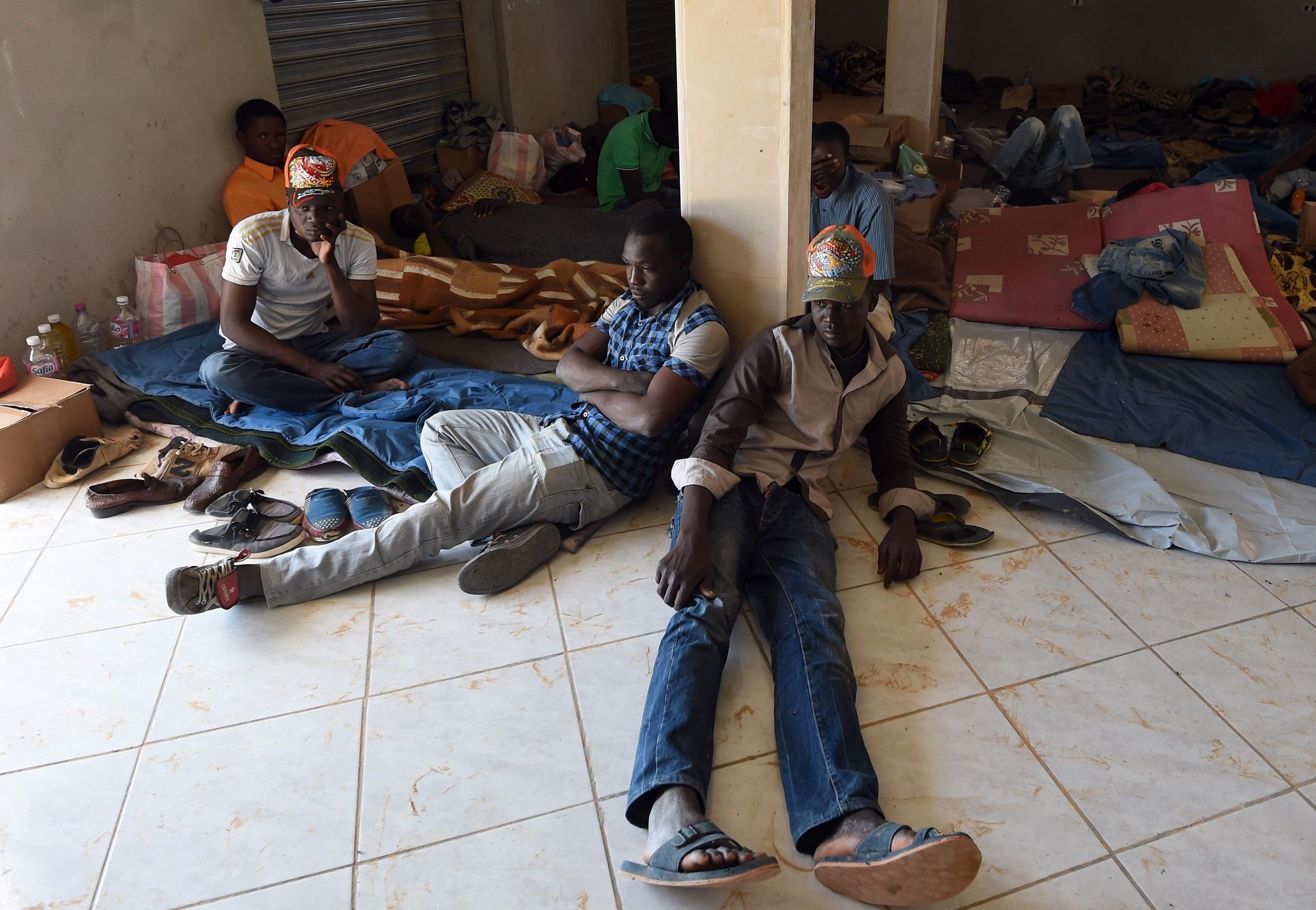 Des migrants subsahariens en Tunisie. D. R.