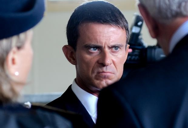 Valls rappelle encore trop Sarkozy tant dans le comportement que dans le verbe. D. R.