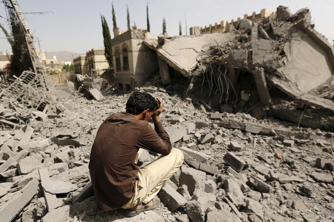 Le monde arabe détruit avec l'argent de Riyad, la propagande de Doha et les armes US. D. R.