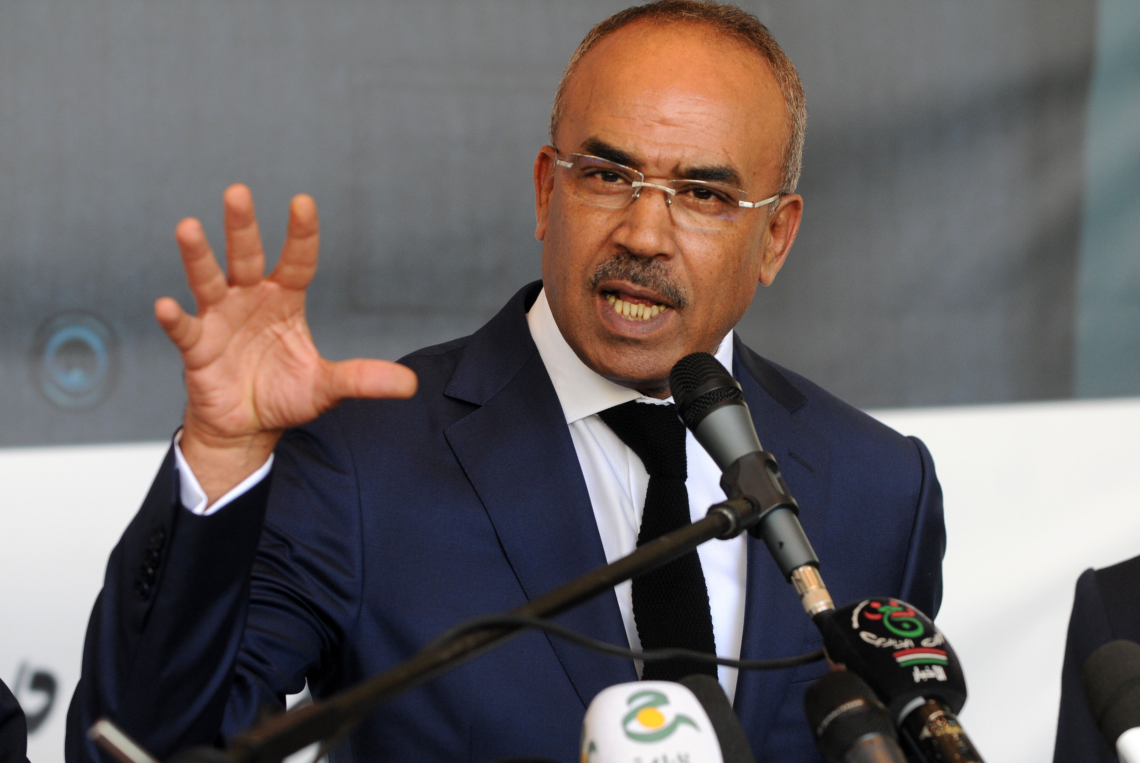 Noureddine Bedoui, ministre de l'Intérieur et des Collectivités locales. New Press