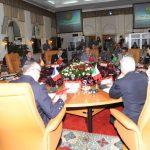 Lors d'une précédente réunion de l'initiative «5+5 Défense». D. R.