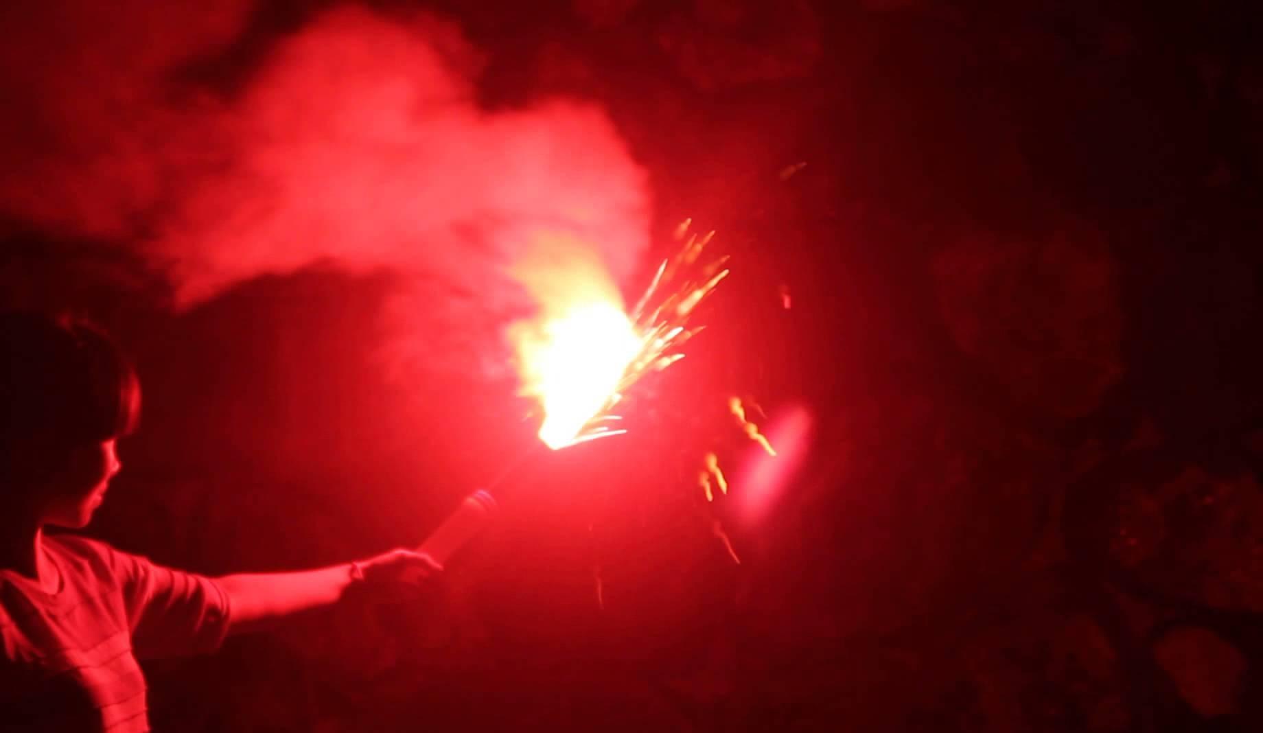 Les produits pyrotechniques ont l'«avantage» de donner à la violence urbaine un cachet plus «contemporain». D. R.