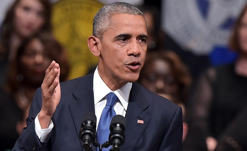 Barack Obama. D. R.