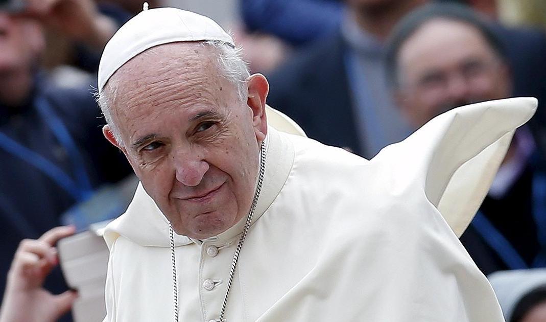 Le pape François. D. R.