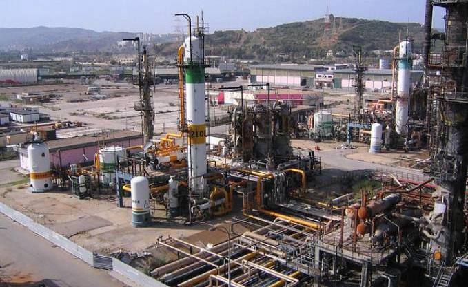 La raffinerie de Skikda. D. R.