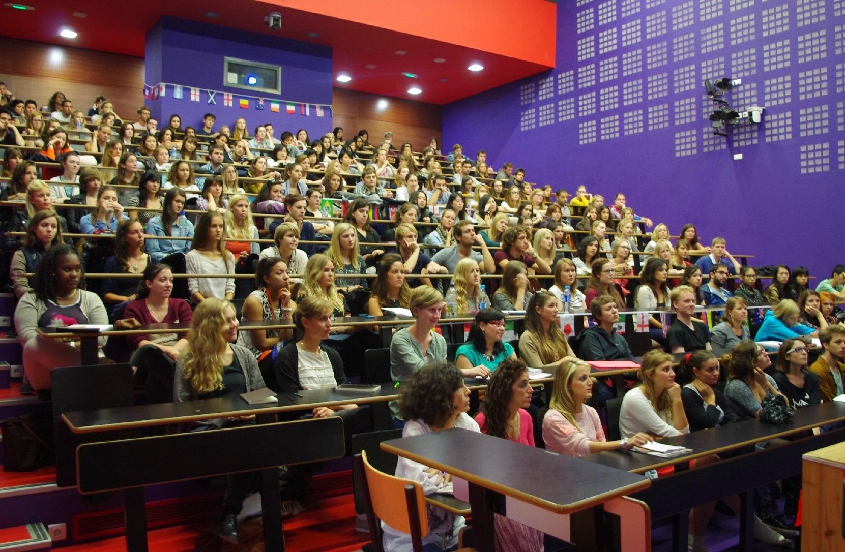 Les étudiants peuvent dialoguer avec plus de trente établissements universitaires. D. R.