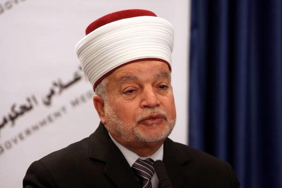 Le grand mufti d'Al-Qods Muhammad Ahmad Hussein. D. R.