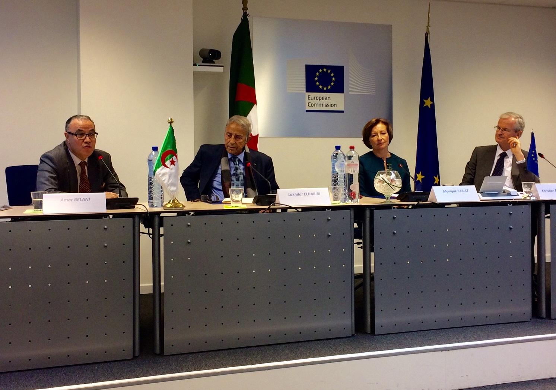 Amar Belani (à gauche) : «L'arrêt de la CJUE s'impose aux pays membres de l'UE». D. R.