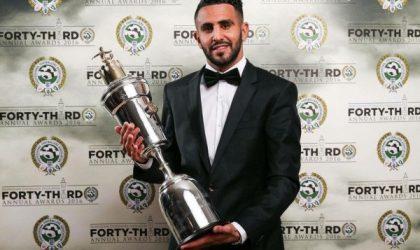 L'Algérien Ryad Mahrez élu Meilleur joueur africain 2016