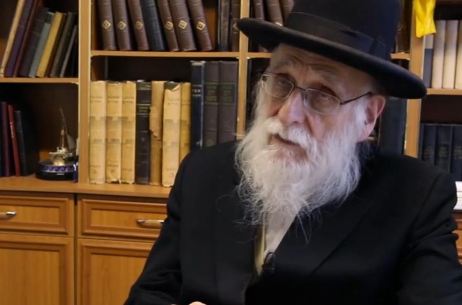 Rabbin Ahron Cohen. D. R.