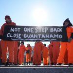 Manifestation pour la fermeture du centre de détention de Guantanamo. D. R.