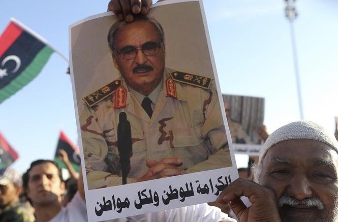Khalifa Haftar aura-t-il le soutien du nouveau président américain ? D. R.