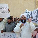 Manifestation d'extrémistes marocains. D. R.