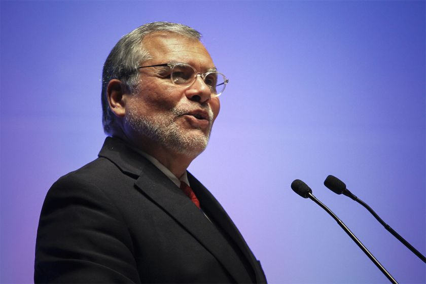 José Ugaz, président de Transparency International. D. R.