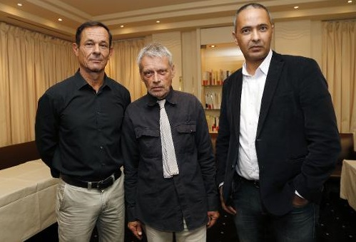 Kamel Daoud (à droite) clone de l'ultra sioniste Alain Finkielkraut. D. R.