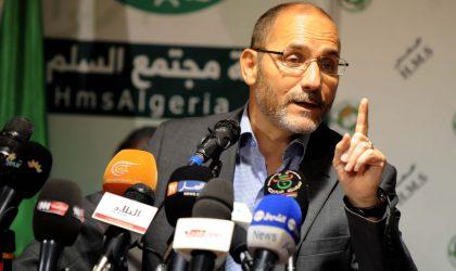 Mokri feint d'ignorer l'appel de Sofiane Djilali et anticipe sur son entrée au gouvernement