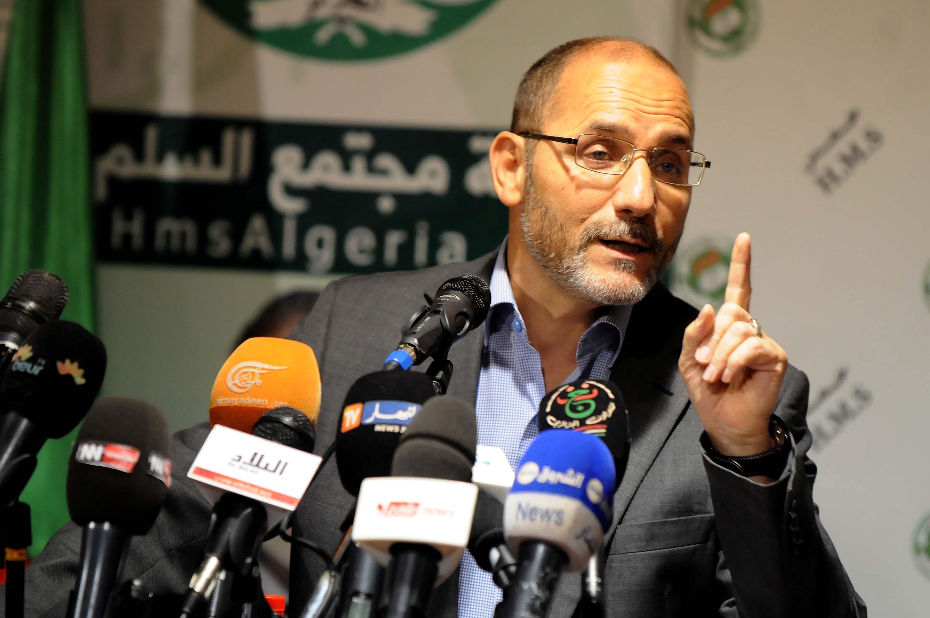Abderrazak Mokri, président du MSP. New Press