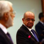 Messahel avec le MAE libyen. Photo d'archive/New Press