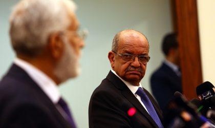 Messahel s'entretient avec le président du HCE de Libye