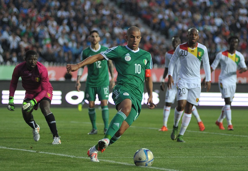 Feghouli ne jouera pas la CAN-2017. New Press