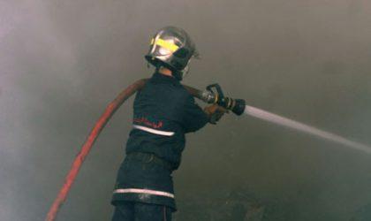 Les pompiers maîtrisent un incendie sur un pipeline près de Laghouat