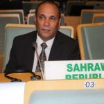 Ambassadeur de la RASD auprès de l'UA. D. R.