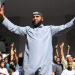 Des extrémistes manifestant à Tunis du temps de la cohabitation avec Ennahda. D. R.