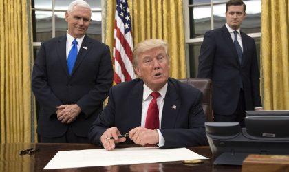 Trump brise le mur du conservatisme et met à exécution ses promesses de campagne