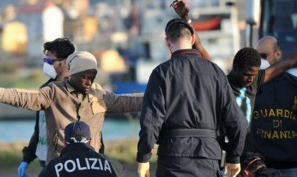 UE : le nombre des migrants a chuté de deux-tiers