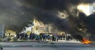 Les habitants subissent les conséquences des violences. D. R.