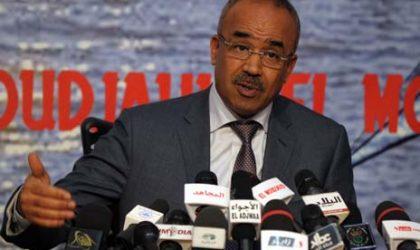 Bedoui : «L'Algérie subit quotidiennement des agressions extérieures»