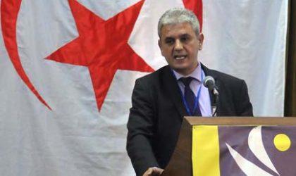 Le RCD appelle au respect du vote des électeurs aux prochaines législatives