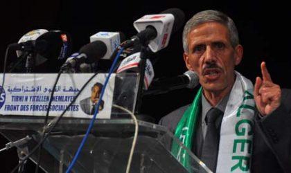 Le FFS met en garde contre l'instrumentalisation des revendications citoyennes