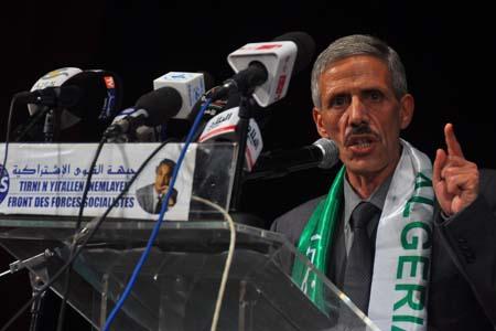 Premier secrétaire du FFS, Abdelmalek Bouchafa. New Press