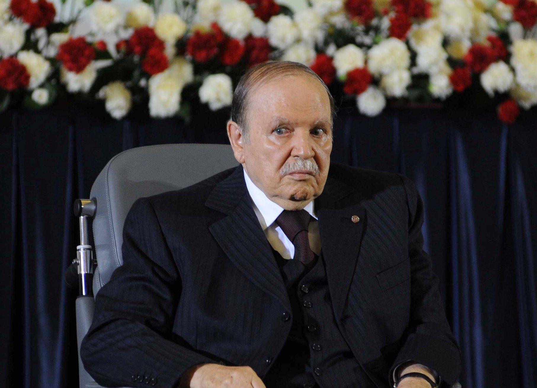 Le président de la République, Abdelaziz Bouteflika. New Press