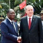 L'offensive d'Erdogan en Afrique se poursuit. Ici, à Abidjan en février 2016. D. R.