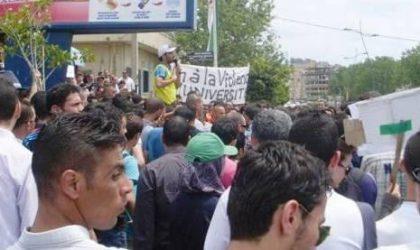Béjaïa : les étudiants annulent une marche pour dénoncer la loi de finances