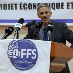Abdelmalek Bouchafa, premier secrétaire du FFS. New Press