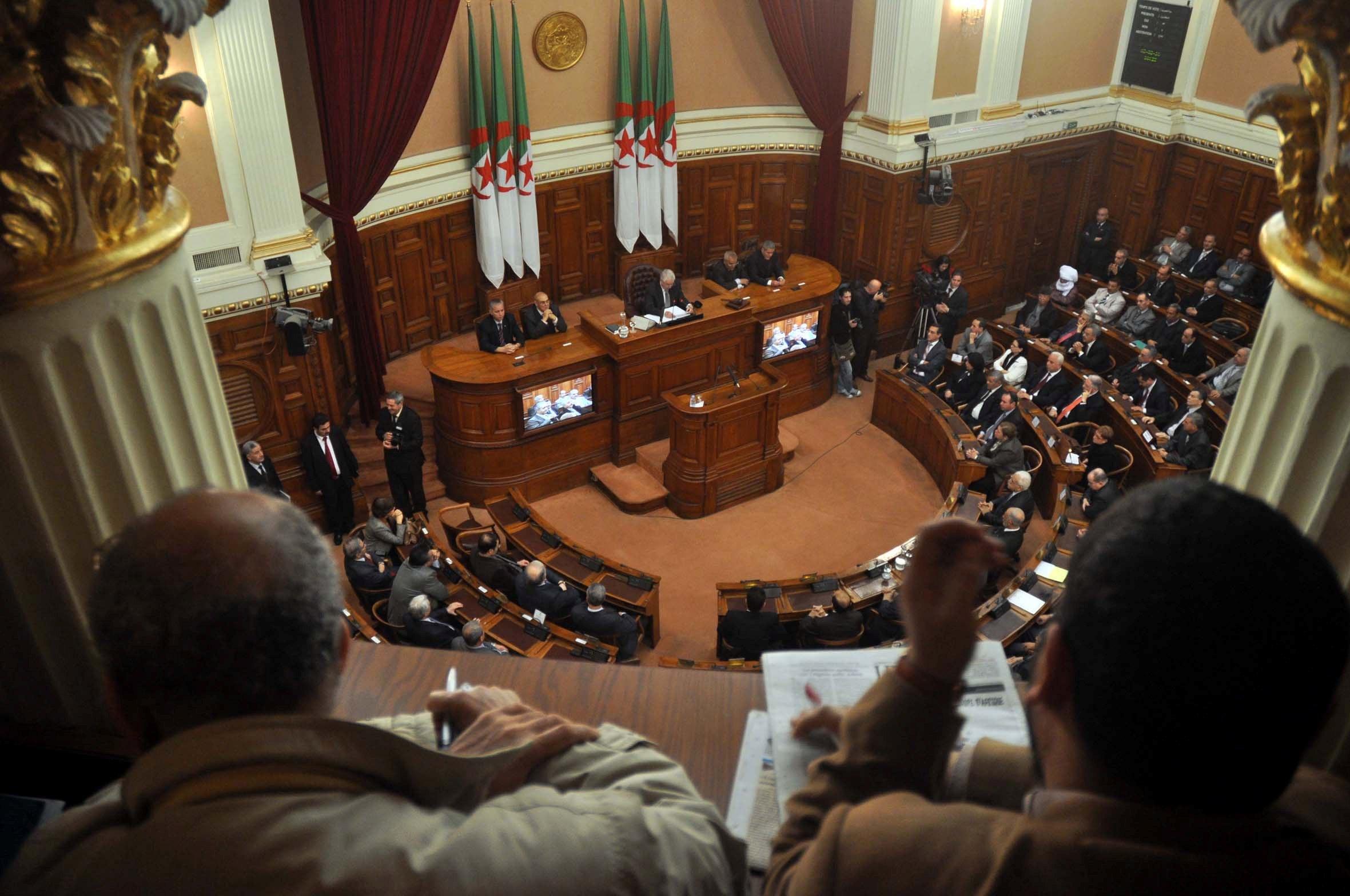 Le FLN détient la majorité au sein du Conseil de la nation. New Press
