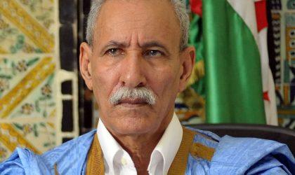Ghali appelle Rabat à respecter les frontières internationales