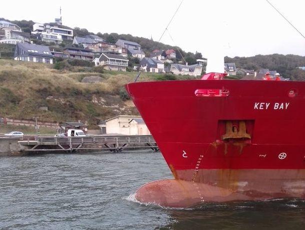 La marchandise à bord de Key Bay arrivera-t-elle à destination ? D. R.