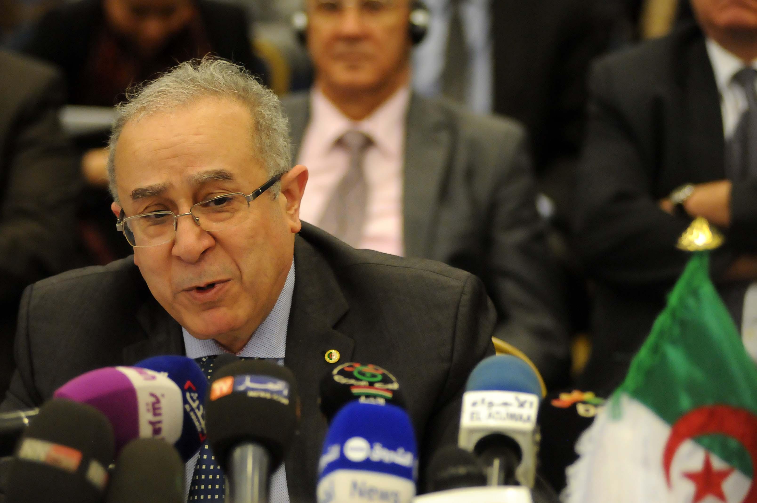 Ramtane Lamamra, ministre des Affaires étrangères et de la Coopération internationale. New Press