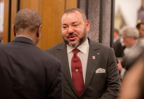 Mohammed VI à Addis-Abeba. D. R.