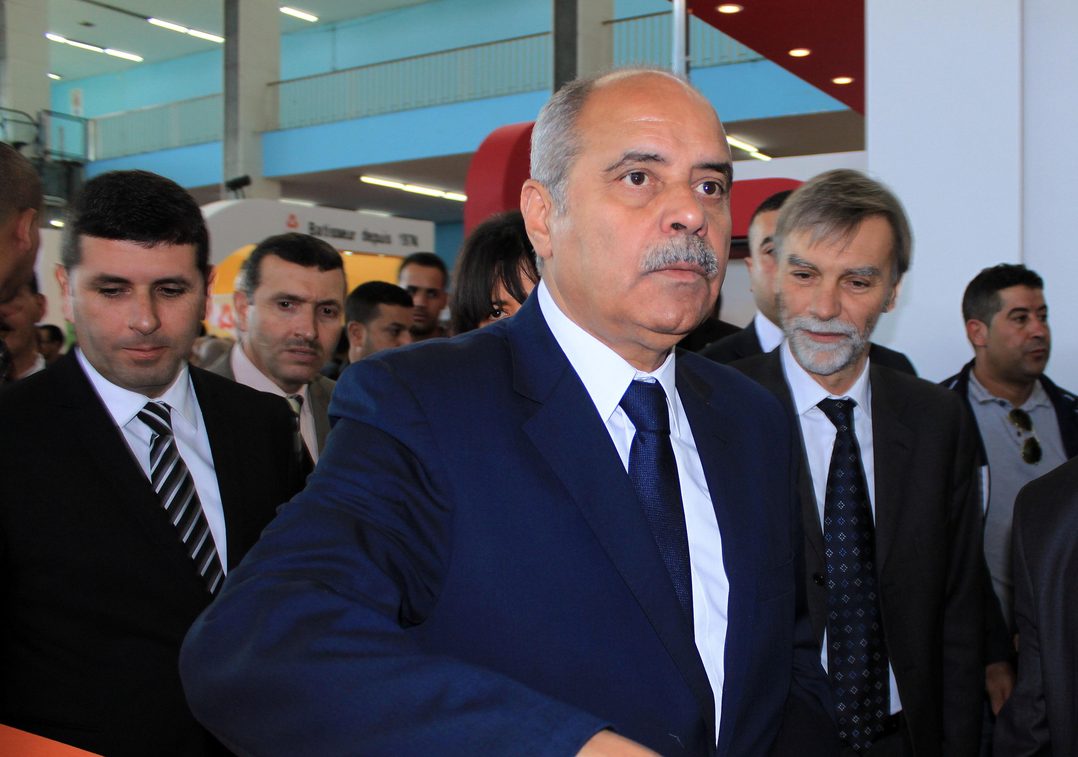 Abdelkader Ouali, ministre des Ressources en eau et de l'Environnement. New Press