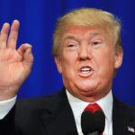 Donald Trump. D. R.